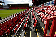 General view inside Oakwell  during the EFL Sky Bet Championship match between Barnsley and Swansea City at Oakwell, Barnsley, England on 19 October 2019.