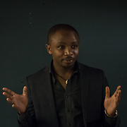 "Olivier Nsengimana of the Rwanda Wildlife Conservation Society ""Conserving Rwanda's emblematic grey crowned crane"" Winner of the Whitley Award donated by Arcus Foundation outstanding efforts to protect some of the world's most endangered animals and their habitat from Pooches, trophy hunting, medicine and food consumption. the goal for Whitley Fund for Nature is to reach the mind of the people and politicians on 26 April 2018 at Library in  London, UK."