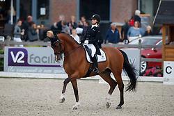 Meulendijks Anne, NED, MDH Avanti<br /> Nederlands Kampioenschap Dressuur <br /> Ermelo 2017<br /> © Hippo Foto - Dirk Caremans<br /> 14/07/2017