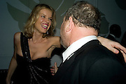 Eva Herzigova and Harvey Weinstein, Weinstein Bafta after-party in association with Chopard. Bungalow 8. London. 10  February 2008.  *** Local Caption *** -DO NOT ARCHIVE-© Copyright Photograph by Dafydd Jones. 248 Clapham Rd. London SW9 0PZ. Tel 0207 820 0771. www.dafjones.com.