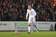 Manchester United's Ander Herrera during the The FA Cup match between Cambridge United and Manchester United at the R Costings Abbey Stadium, Cambridge, England on 23 January 2015. Photo by Phil Duncan.