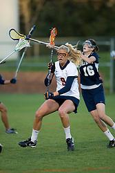 Virginia A Whitaker Hagerman (9).  The #4 ranked Virginia Cavaliers women's lacrosse team faced Old Dominion Lady Monarchs at the University of Virginia's Klockner Stadium in Charlottesville, VA on April 2, 2008.