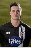 22 February 2016; Ben Kelly, Dundalk FC. Dundalk FC photoshoot. Oriel Park, Dundalk, Co. Louth. Picture credit: Paul Mohan / SPORTSFILE