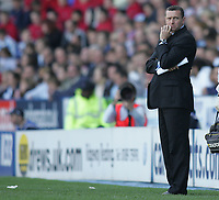 Photo: Lee Earle.<br /> Reading v Watford. The Barclays Premiership. 05/05/2007.Watford manager Aidy Boothroyd.