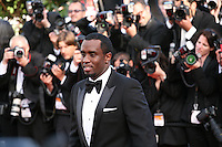 P Diddy attends the gala screening of Lawless at the 65th Cannes Film Festival. The screenplay for the film Lawless was written by Nick Cave and Directed by John Hillcoat. Saturday 19th May 2012 in Cannes Film Festival, France.