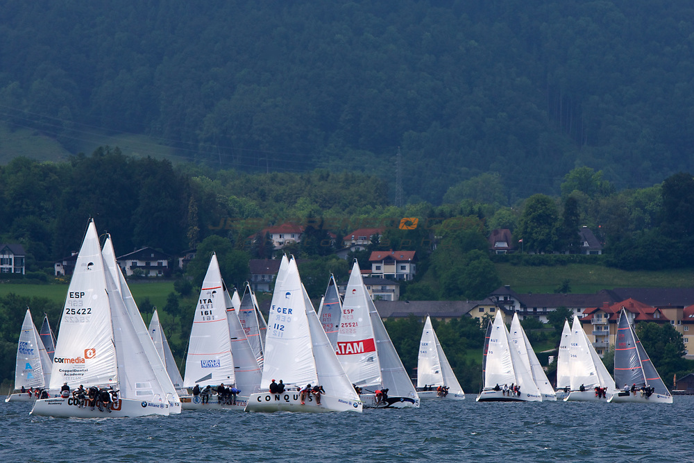 Platu25 worlds 2011, Gmundenlake traunsee,Austria,final day