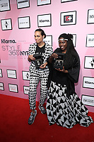 Rosario Dawson and Abrima Erwiah attend Klarna STYLE360 NYFW Hosts Studio 189 By Rosario Dawson And Abrima Erwiah Runway Show Sponsored By Klarna USA