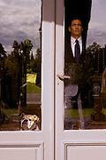 G&eacute;rard Lanvin, Actor<br /> image taken on set of the feature movie  &quot;Erreur de la banque en votre faveur&quot; by Michel Munz and G&eacute;rard Bitton