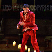 "LONDON, ENGLAND - SEPTEMBER 19: ""iD"" performed by Jean-PhilippeDeltell Cirque Eloize at The Peacock Theatre on September 19, 2016 in London, England. (Photo by Leo Mason - Split Second/Corbis via Getty Images)"