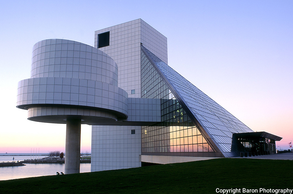 Rock Hall of Fame in Cleveland | Baron Photography