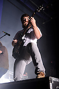 "Photos of Christian metalcore band Underoath performing at the Pageant in St. Louis on July 25, 2010 on ""The Cool Tour."""