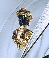 22.12.2017; London, England: PRINCESS MICHAEL OF KENT APOLOGISES FOR WEARING BLACKAMOOR BROOCH<br />Princess Michael of Kent has apologised for wearing a &lsquo;blackamoor&rsquo; brooch to the Queen&rsquo;s Christmas lunch at Buckingham Palace, attended by Prince Harry&rsquo;s mixed race fianc&eacute;e Meghan Markle.<br />The statement issued thriugh her spokeman said &ldquo; The brooch was a gift and has been worn many times before.'Princess Michael is very sorry and distressed that it has caused offence.'<br />The wife of the Queen&rsquo;s first cousin, 72, was pictured wearing the accessory as she arrived at Buckingham Palace. The decision to wear the brooch drew criticism due to&nbsp;Meghan Markle&rsquo;s biracial background&nbsp;(her mother is Black and her father is white) &mdash; and the fact that Princess Michael chose to wear it on the day Meghan was being introduced to many extended royal family members for the first time.<br />&ldquo;Blackamoor&rdquo; is a genre of art or jewelry originating in 16th century Venice that has been criticized for promoting imagery that is considered racist. Many blackamoor figures portray exoticized images of servants and slaves of African descent.<br />This isn&rsquo;t the first time Princess Michael, dubbed &ldquo;Princess Pushy,&rdquo; has made headlines for her controversial behavior.&nbsp;She was&nbsp;accused of racism in 2004. While at a New York restaurant, she was said to have told a group of African American diners to &ldquo;go back to the colonies.&rdquo;<br />Picture shows: Princess Michael of Kent wearing the blackamoor brooch when she attended the Chritsmas Party at Buckingham Palace on Wedneday.<br />Mandatory Photo Credit: &copy;Francis Dias/NEWSPIX INTERNATIONAL<br /><br />IMMEDIATE CONFIRMATION OF USAGE REQUIRED:<br />Newspix International, 31 Chinnery Hill, Bishop's Stortford, ENGLAND CM23 3PS<br />Tel:+441279 324672  ; Fax: +441279656877<br />Mobile:  07775681153<br />e-mail: info@newspixinternational.co.uk