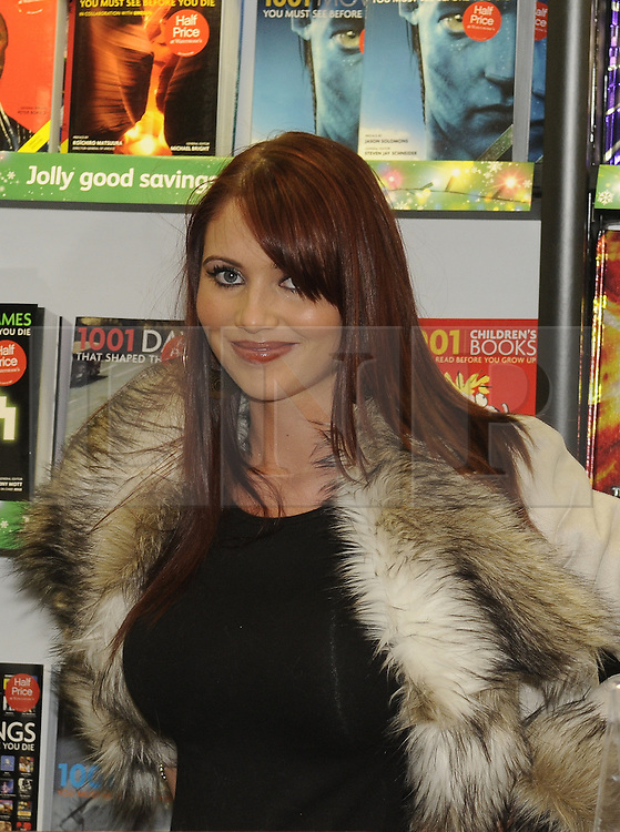 """**CAPTION CORRECTION**<br /> Image was sent out with wrong name. Subject is Amy Childs NOT Sophie Price.<br /> © under license to London News Pictures. 25.11.2010 Star of The Only Way Is Essex, Amy Childs at Waterstones in Bluewater today (25/11/2010) where Katy Price was launching her new book """" You Only Live Once"""".  Picture credit should read Grant Falvey/London News Pictures"""