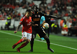 February 21, 2019 - Na - Lisbon, 21/02/2019 - SL Benfica received Galatasaray SK tonight at Estádio da Luz in the second qualifying round of the Europa League 2018/2019. Grimaldo  (Credit Image: © Atlantico Press via ZUMA Wire)
