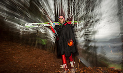 05.01.2014, Paul Ausserleitner Schanze, Bischofshofen, AUT, FIS Ski Sprung Weltcup, 62. Vierschanzentournee, Qualifikation, im Bild Dawid Kubacki (POL) // during qualification Jump of 62nd Four Hills Tournament of FIS Ski Jumping World Cup at the Paul Ausserleitner Schanze, Bischofshofen, Austria on 2014/01/05. EXPA Pictures © 2014, PhotoCredit: EXPA/ JFK