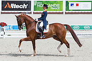 Adelinde Cornelissen - Jerich Parzival N.O.P.<br /> Alltech FEI World Equestrian Games™ 2014 - Normandy, France.<br /> © DigiShots