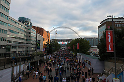 A General view of Wembley Stadium before England play Switzerland in the Euro 2016 Qualifier - Mandatory byline: Dougie Allward/JMP - 07966386802 - 08/09/2015 - FOOTBALL - INTERNATIONAL - Wembley Stadium - London - England v Switzerland - European Championship 2016 Qualifiers - Group E