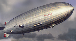 May 6, 2017 - FILE PHOTO - The Hindenburg disaster occurred on May 6, 1937, as the German passenger airship LZ 129 Hindenburg caught fire and was destroyed during its attempt to dock with its mooring mast at Naval Air Station Lakehurst in Manchester Township, New Jersey, United States. Of the 97 people on board (36 passengers and 61 crewmen), there were 35 fatalities (13 passengers and 22 crewmen). One worker on the ground was also killed, raising the final death toll to 36. Pictured: May 6, 1937 - German airship LZ 129 'Hindenburg'. During the historical airship accident of the 'Hindenburg', the hydrogen within the ship burned. (Credit Image: © German Federal Archive via ZUMA Wire/ZUMAPRESS.com)