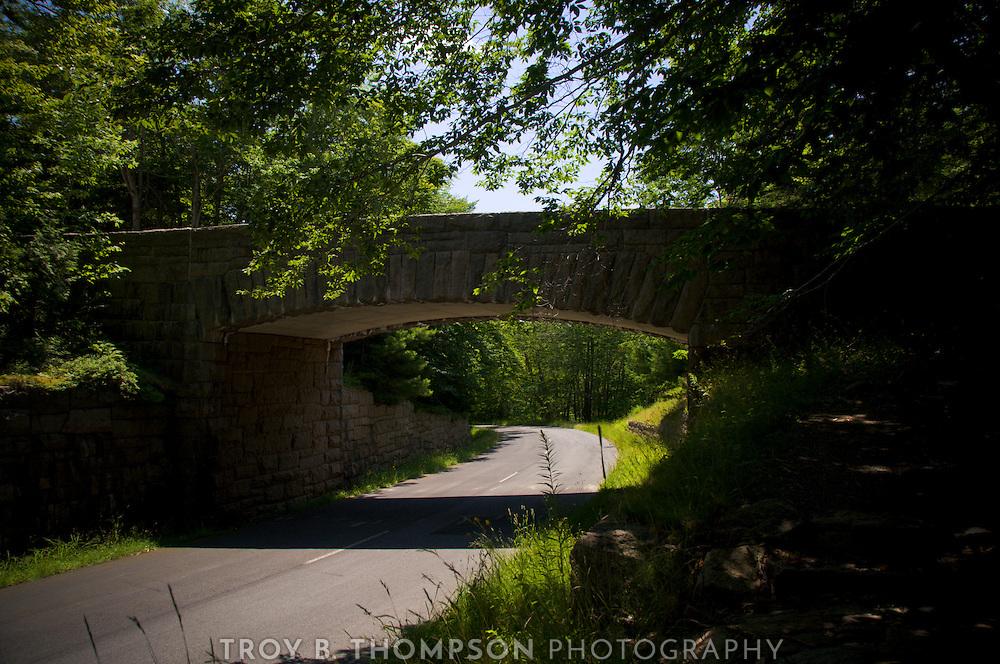 Triad-Day Mountain Bridge.Carriage Road 17/37