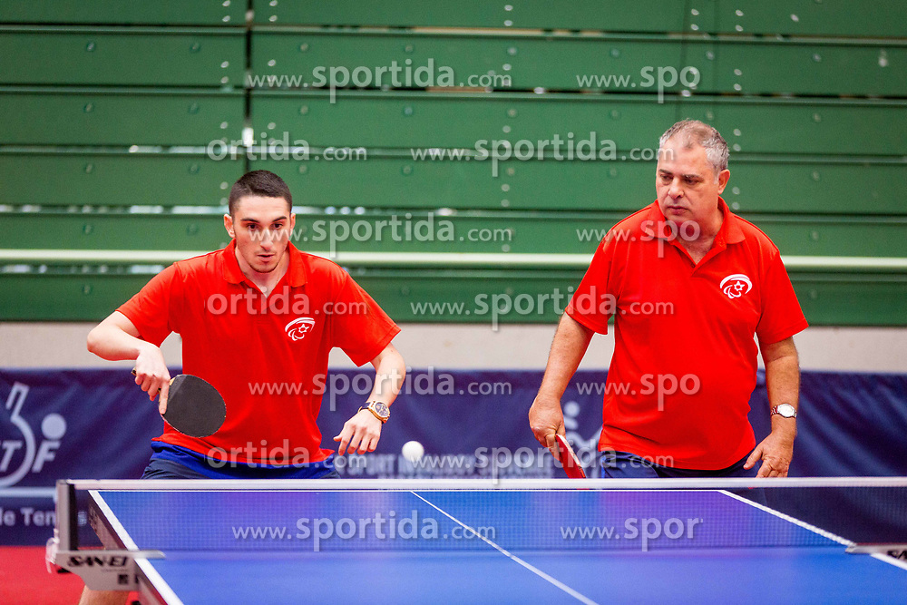 ISRAEL (GORDON Aviv and SHUR Samuel) during day 4 of 15th EPINT tournament - European Table Tennis Championships for the Disabled 2017, at Arena Tri Lilije, Lasko, Slovenia, on October 1, 2017. Photo by Ziga Zupan / Sportida