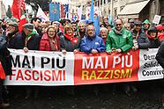 20180225 - manifestazione Mai più ai fascismi Mai più ai razzismi