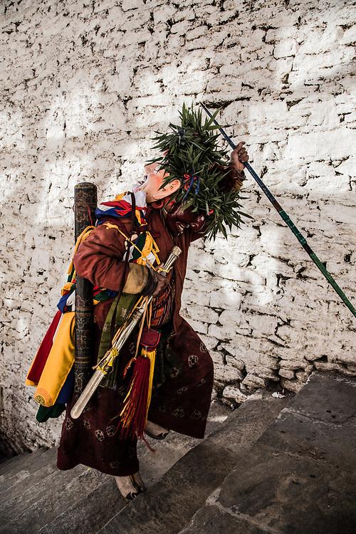 Festival in Trongsa, Bhutan