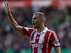 Stoke City's Ryan Shawcross - Photo mandatory by-line: Matt Bunn/JMP - Tel: Mobile: 07966 386802 19/10/2013 - SPORT - FOOTBALL - Britannia Stadium - Stoke-On-Trent - Stoke City V West Brom - Barclays Premier League