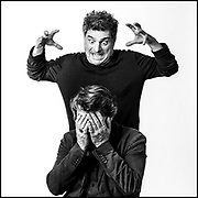 Bruno Podalydes et Pierre Salvadori