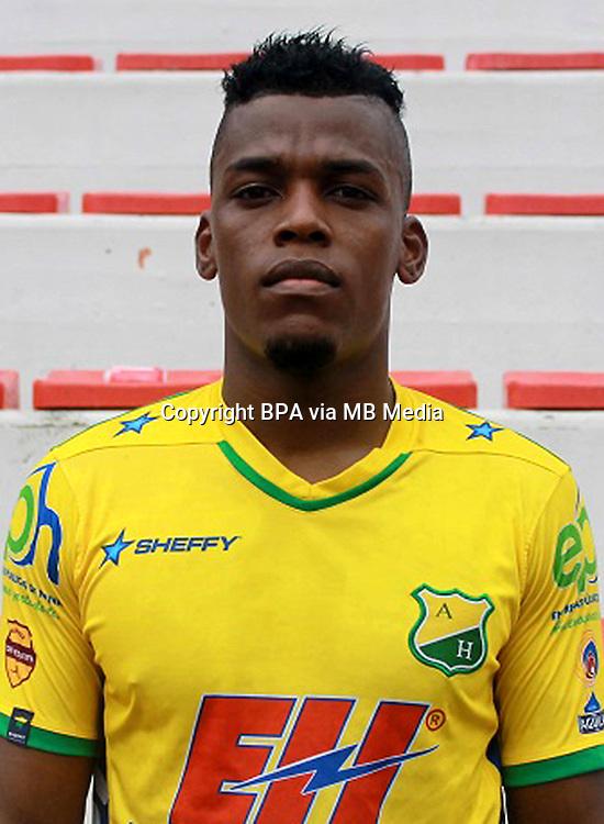Colombia League - Liga Aguila 2015-2016 - <br /> Club Deportivo Atletico Huila - Colombia / <br /> Manuel Eutimio Berrio Palacios