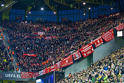 DORTMUND, GERMANY - Thursday, April 7, 2016: Liverpool supporters before the UEFA Europa League Quarter-Final 1st Leg match against Borussia Dortmund at Westfalenstadion. (Pic by David Rawcliffe/Propaganda)