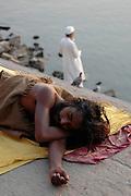India, Uttar Pradesh, Varanasi The Ganges river