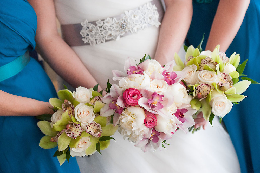 The bridal bouquet by wedding photographer Courtney Platt