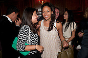 Daniella Issa Helayel; Rachel Barrett,  DSquared2 Launch of their Classic collection. Tramp. Jermyn St. London. 29 June 2011. <br /> <br />  , -DO NOT ARCHIVE-© Copyright Photograph by Dafydd Jones. 248 Clapham Rd. London SW9 0PZ. Tel 0207 820 0771. www.dafjones.com.