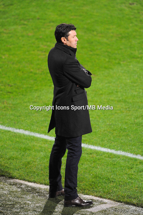 Hubert FOURNIER  - 04.12.2014 - Lyon / Reims - 16eme journee de Ligue 1  <br /> Photo : Jean Paul Thomas / Icon Sport