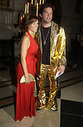 Danni Minogue and Ben Belldegrun. Andy and Patti Wong host  party to cleebrate then Chinese New Year of the Dog. Royal Courts of Justice. Strand. London. 28 January 2006. © Copyright Photograph by Dafydd Jones 66 Stockwell Park Rd. London SW9 0DA Tel 020 7733 0108 www.dafjones.com