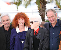 Pierre Arditi, Sabine Azema, Alain Resnais, Hippolyte Girardot, Anne Dupery at the Vous N'Avez Encore Rien Vu photocall at the 65th Cannes Film Festival France. Monday 21st May 2012 in Cannes Film Festival, France.