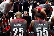 Time out Ax Armani Exchange Olimpia Milano, Ax Armani Exchange Olimpia Milano vs Olympiacos Piraeus, Euroleague 2018, Milano 23 novembre 2017 - foto BERTANI/Ciamillo-Castoria