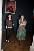 BELLA FREUD; ALICE GODDARD, Vogue100 A Century of Style. Hosted by Alexandra Shulman and Leon Max. National Portrait Gallery. London. WC2. 9 February 2016.