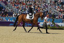 Trabert, Angelika, Ariva-Avanti<br /> London Paralympics 2012<br /> Grade II Freestyle<br /> © www.sportfotos-lafrentz.de/ Stefan Lafrentz