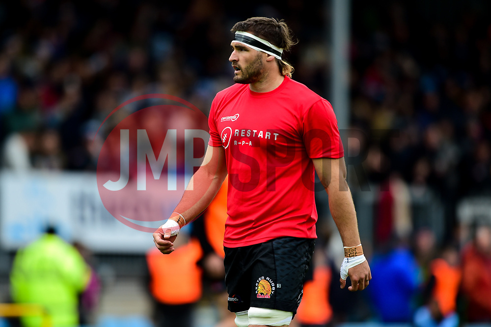 Don Armand of Exeter Chiefs prior to kick off - Mandatory by-line: Ryan Hiscott/JMP - 14/04/2019 - RUGBY - Sandy Park - Exeter, England - Exeter Chiefs v Wasps - Gallagher Premiership Rugby