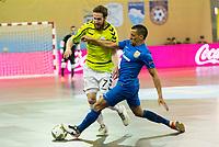 Inter FS's Pola during UEFA Futsal Cup 2015/2016 Final match. April 22,2016. (ALTERPHOTOS/Acero)