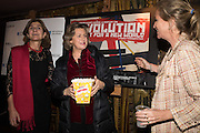 MARGY KINMONTH; PRINCESS KATYA GALITZINE; IMOGEN EDWARDS-JONES Premiere of Revolution, New Art For a New World ,  Curzon cinema , London. 10 Nov 2016