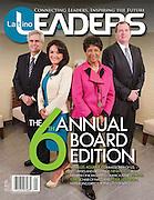 Latino Leaders Magazine front cover, Washington DC, September 2013.