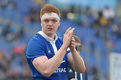 March 16, 2019 - Rome, Italy - Felix Lambey during RBS Six Nations Rugby Championship, Italia v Francia at the Olympic Stadium in Rome, on march 16, 2019  (Credit Image: © Silvia Lore/NurPhoto via ZUMA Press)