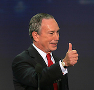 A 24 MG IMAGE OF:..Mayor Michael Bloomberg at the Republican National Convention in New York, NY on August 30.2004. Photo by Dennis Brack