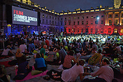 Film 4 Summer Screen at Somerset House. guillermo del Toro's Hellboy 11: The Golden Army. 31 July 2008. *** Local Caption *** -DO NOT ARCHIVE-© Copyright Photograph by Dafydd Jones. 248 Clapham Rd. London SW9 0PZ. Tel 0207 820 0771. www.dafjones.com.