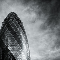 View of the Gherkin - 22 St. Mary Axe