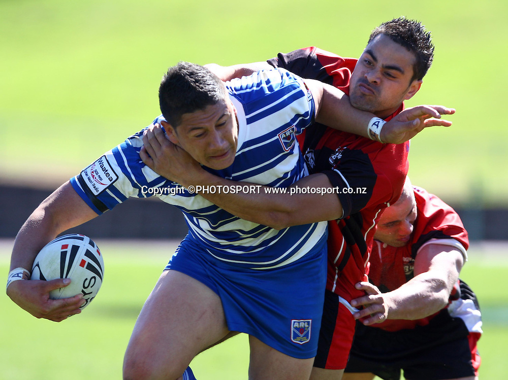Auckland captain Jeremiah Pai.<br />