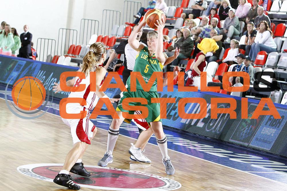 DESCRIZIONE : Valmiera Latvia Lettonia Eurobasket Women 2009 Lituania Turchia Lithuania Turkey<br /> GIOCATORE : Milda Suliute<br /> SQUADRA : Lituania Lithuania<br /> EVENTO : Eurobasket Women 2009 Campionati Europei Donne 2009 <br /> GARA : Lituania Turchia Lithuania Turkey<br /> DATA : 08/06/2009 <br /> CATEGORIA : <br /> SPORT : Pallacanestro <br /> AUTORE : Agenzia Ciamillo-Castoria/E.Castoria<br /> Galleria : Eurobasket Women 2009 <br /> Fotonotizia : Valmiera Latvia Lettonia Eurobasket Women 2009 Lituania Turchia Lithuania Turkey<br /> Predefinita :