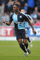 ANTHONY STEWART WYCOMBE WANDERERS, Northampton Town v Wycombe Wanderers, Sixfields Stadium, Sky Bet League 2, Saturday 20th Febuary 2016